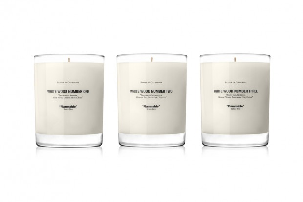 Win a Baxter of California White Wood Candle Set! | Hypebeast