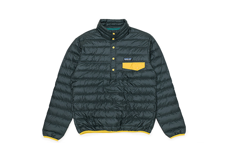 Patagonia/Men's Down Snap-T Pullover-CAN
