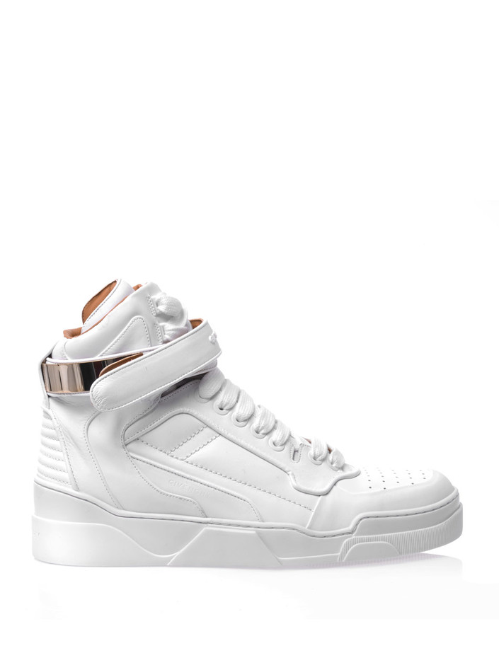 Leather high-top trainers | Givenchy | MATCHESFASHION.COM