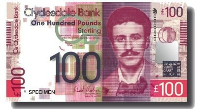 Scotland's Clydesdale Bank unveils new notes   Europe   Banknote News