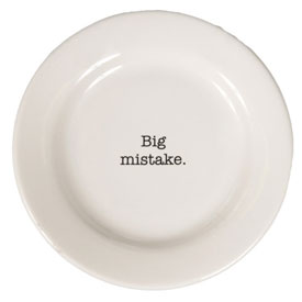 """Browsing Store - Intervention-ware Side Plate 8-1/4"""""""