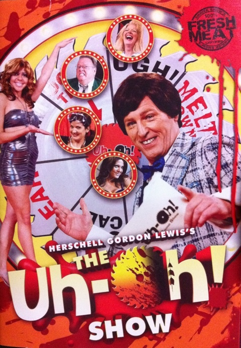 DVD『Herschell Gordon Lewis's THE Uh-Oh! SHOW』観る。 on Twitpic