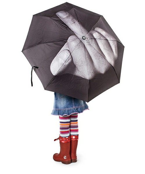 Fuck The Rain umbrella
