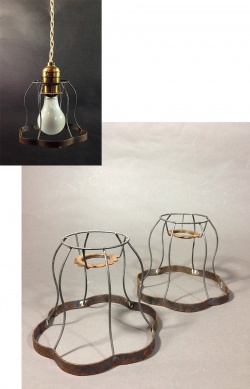 1930's Steel Wire Bulb Cages - FUNNY SUPPLY