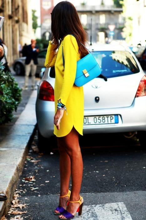 wear / a colorful outfit perfectly suited for summer #pretty