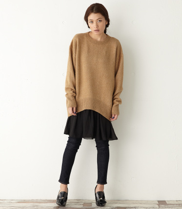 【MOUSSY/マウジー】Multi Layered Chiffon Inner|シェルター公式通販サイト|SHEL'TTER WEB STORE