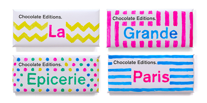 Chocolate Editions Paris - The Dieline -