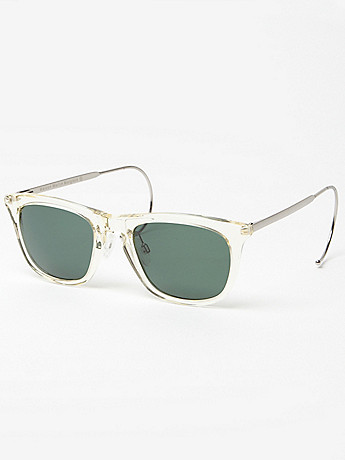 Maison Martin Margiela 8 Cable Temple Sunglasses at セレクトショップ oki-ni