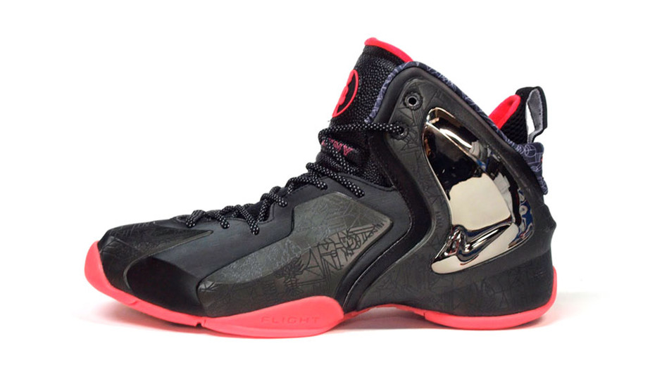 "LIL PENNY POSITE ""LIMITED EDITION for NONFUTURE"" BLK/RED/SLV ナイキ NIKE 