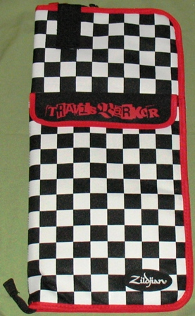 Zildjian Travis Barker drum stick bag.