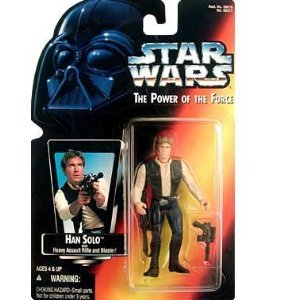 Amazon.co.jp: Star Wars: Power of the Force Red Card Han Solo Action Figure: おもちゃ