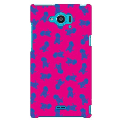 Dogs ピンク design by REVOLUTION OF THE MIND / for AQUOS ZETA SH-01G/docomo