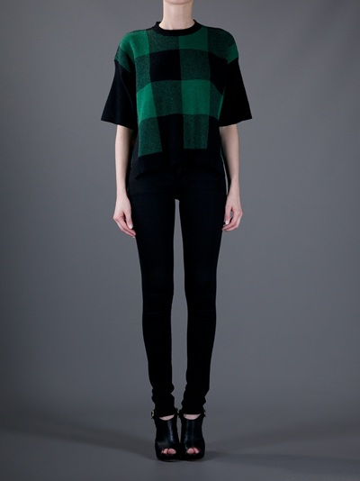 Stella Mccartney Checked T-Shirt - Al Duca D'aosta - farfetch.com