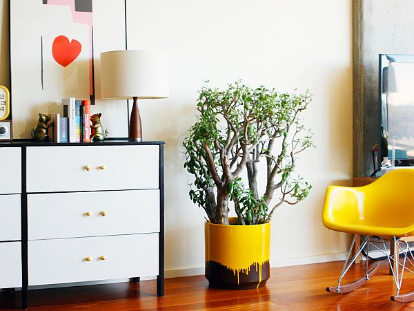 Awesome Yellow Drip Planter