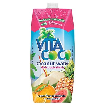 Vita Coco Coconut Water with Tropical Fruit 17 oz (6 Pack) on eBay!