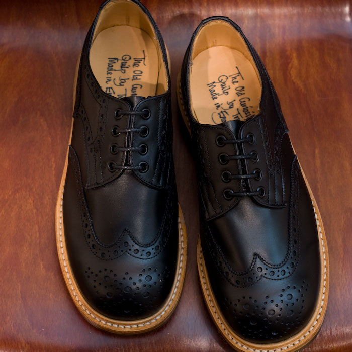 The Old Curiosity Shop x Quilp by Tricker's / Derby Brogue Shoes - Black - Store - nonsect radical