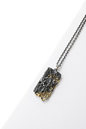Bond Necklace - Black & Gold