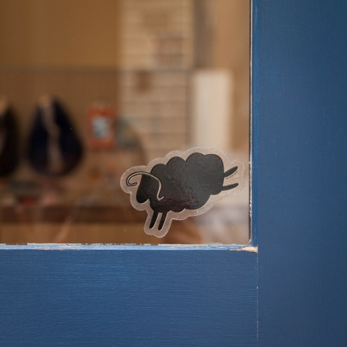 Cycle Sheep Sticker Pack - cup and cone WEB STORE