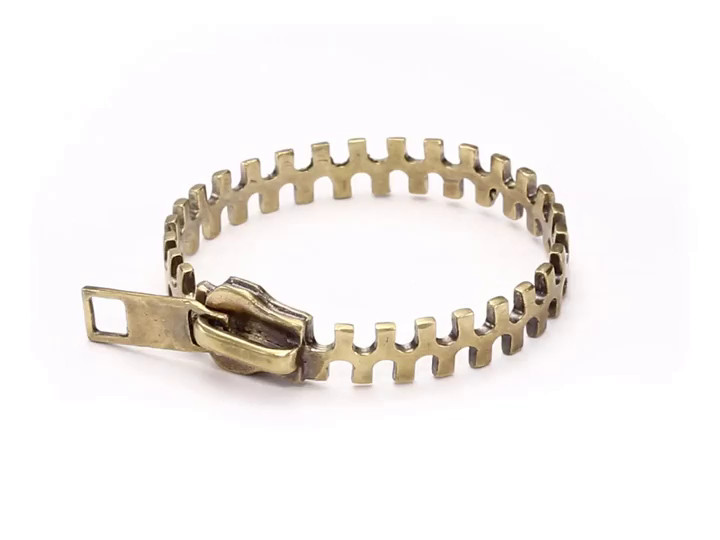 Shop DIANI | Alkemie Jewelry Zipper Bracelet - StyleSays