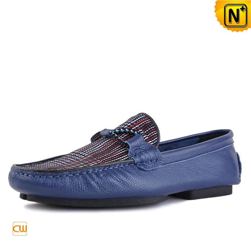 Quality Leather Driving Loafers for Men CW740312