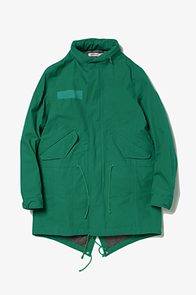 TROOPER COAT COTTON WEATHER CLOTH WITH GORE-TEX PACLITE 2.5L|OUTER|COVERCHORD