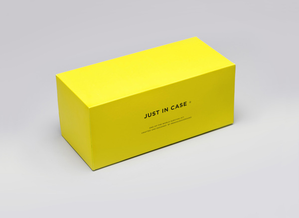 JUST IN CASE ® - Branding for the end of the world - on the Behance Network