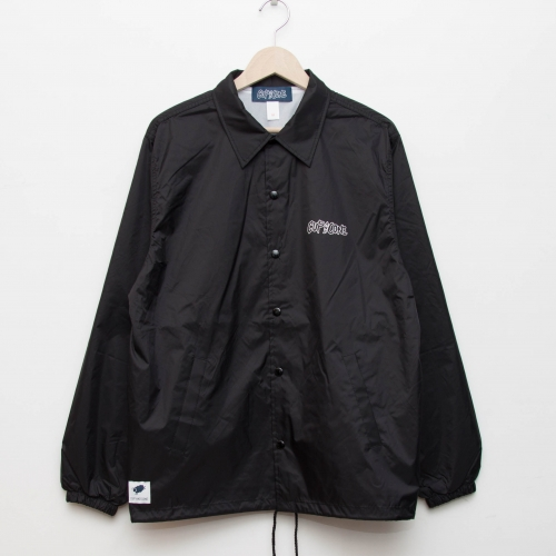 Coaches Jacket - Black - cup and cone WEB STORE