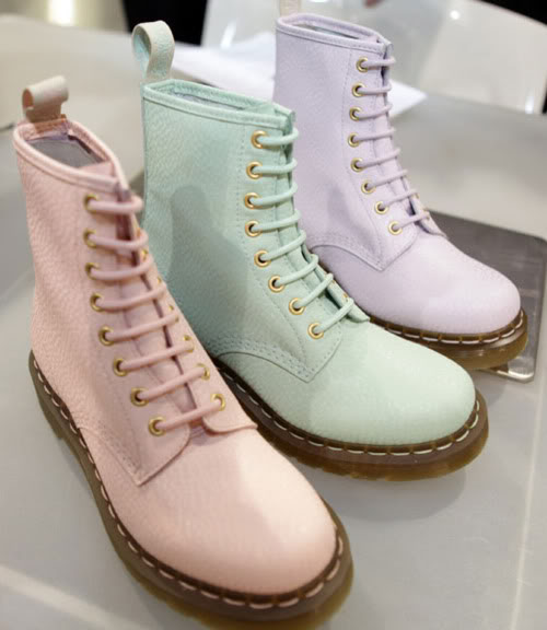 thetailorsstories: Pastel Dr. Martens (via... - speech bubbles