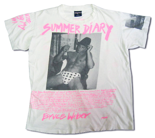 Bruce Weber Photo T-Shirt (Back) | Flickr - Photo Sharing!