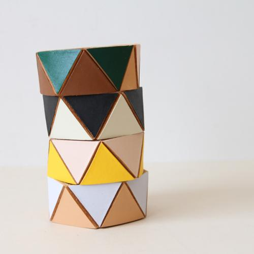 TRIANGLE CUFF(two color)/Lauren_Manoogian - dieci online shop