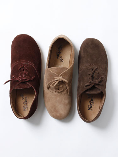 niche. Suede Marco Shoes | vendor