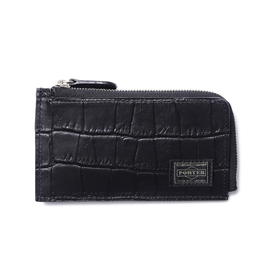 MINI WALLET|CROCO|HEAD PORTER ONLINE|ヘッド ポーター オンライン