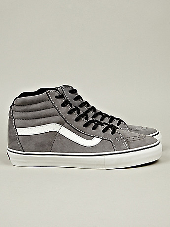 Vans Vault Sk8 Hi Notchback LX in grey at oki-ni