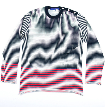 UNION | Four Button Roll Up Sweater