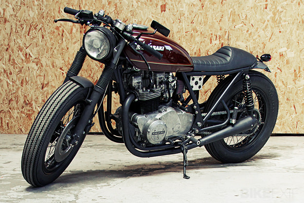 Kawasaki Z750 by the Wrenchmonkees