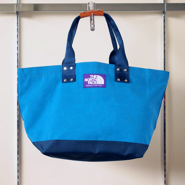 THE NORTH FACE PURPLE LABEL - Tote Bag #TURQUOISE×DARK NAVY