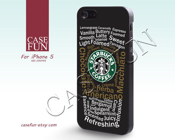 iPhone 5 Case Starbucks Cool iphone case iPhone Case by CaseFun