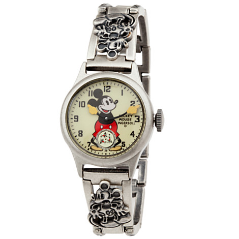 Mickey Mouse Wrist Watch Replica for Adults by Ingersoll | Watches | Disney Store