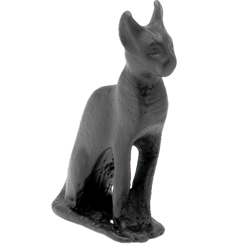 Mini metal Egyptian cat - British Museum shop online