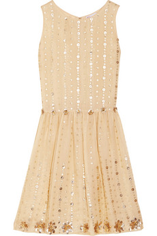 RED Valentino Embellished silk-organza dress - 58% Off Now at THE OUTNET