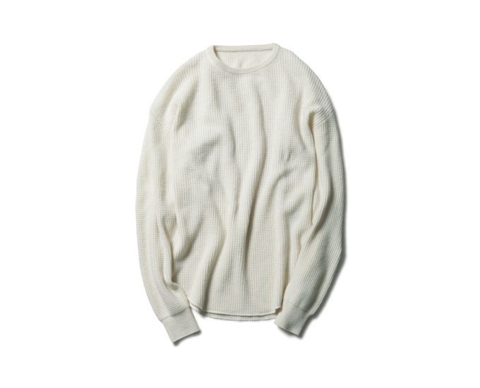 SOPHNET. | PRODUCT | CASHMERE WAFFLE LONG KNIT