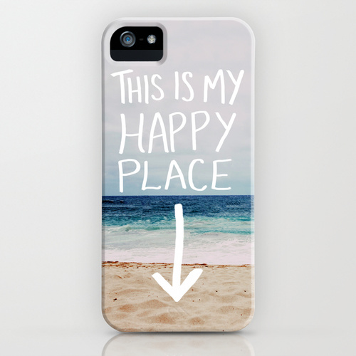 My Happy Place (Beach) by Leah Flores - Society6 ソサエティシックス 専門店 / www.s6-japan.com