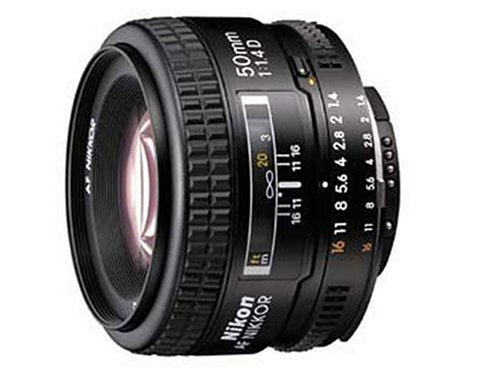 Amazon.com: Nikon 50mm f/1.4D AF Nikkor Lens for Nikon Digital SLR Cameras: Camera & Photo