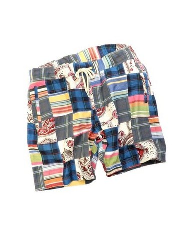 PATCHWORK SHORTS