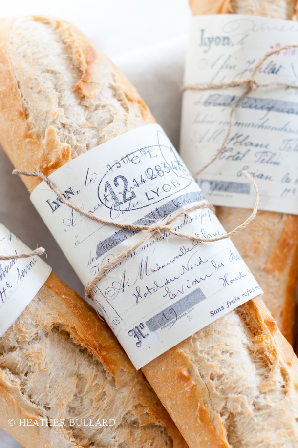 French Baguette Wrap: Free Printable