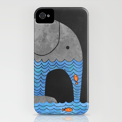 Thirsty Elephant iPhone Case by Terry Fan | Society6