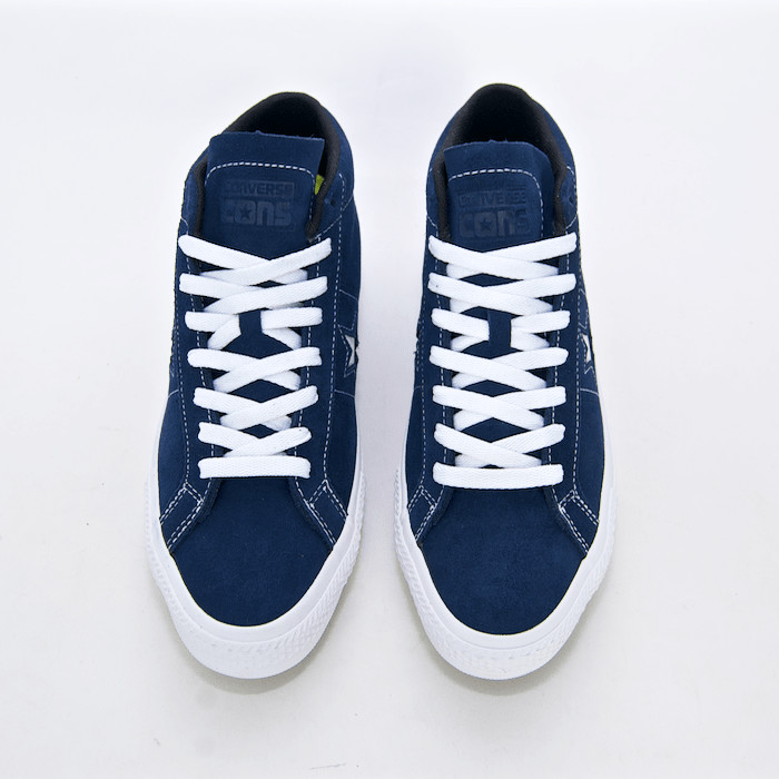 Welcome Skate Store | Converse Cons - One Star Pro Mid Shoes - Navy / White / Black