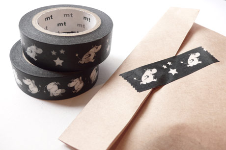 SHOWROOM FINLAND/ MOOMIN DECORATION TAPE ムーミンマスキングテープ - 銀座の文房具|FRED&PERRY