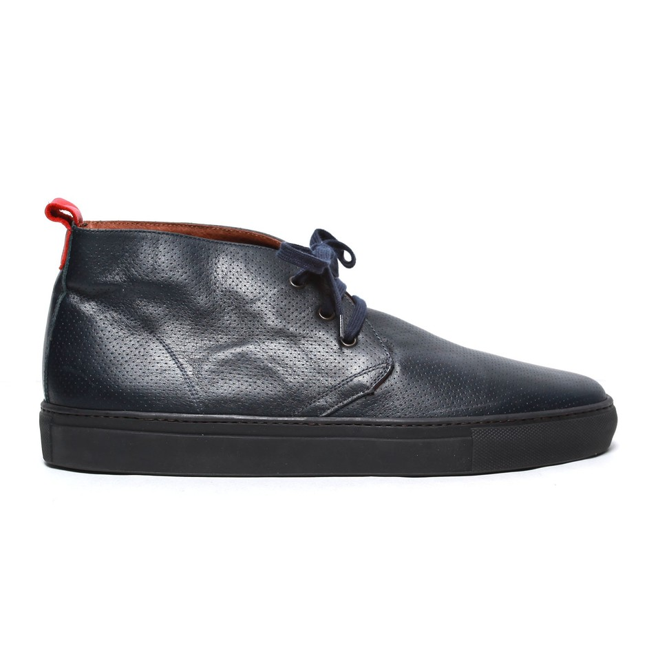 Alto Chukka - Perforated Navy Leather - View All Products