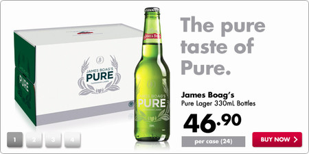 James Boags Pure Lager